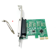 PCI-E Parallel Port DB25 LPT Printer Card Adapter w/Low Profile Bracket US Stock