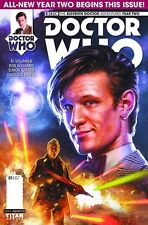 DOCTOR WHO 11TH YEAR TWO #1 Regular Ronald Cover Titan Comic NM - Vault 35