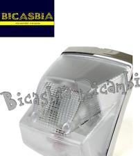 10130 - FANALE POSTERIORE COMPLETO CON GEMMA BIANCA VESPA PX 125 150 200 A DISCO