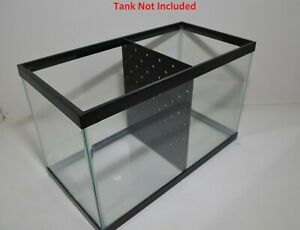 10 Gallon Fish Tank Divider ( No Suction Cups Required)