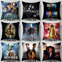 Home Decor TV Doctor Who Pillowcase Bedroom Sofa Waist Pillow Case Cushion Cover