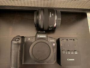 Canon EOS R 30.3MP Digital Camera with Canon RF 35mm f/1.8 Macro Lens