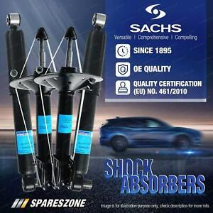 Front + Rear Sachs Shocks for Honda City GM2 Jazz GE Sedan Hybrid Hatchback