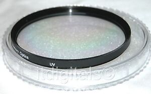 55mm UV Safety Protection Protector Glass Lens Filter Fits 55 mm