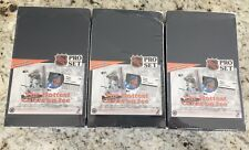 Lot of 3 1991-92 ProSet Hockey Boxes Series 1 Pro Set ENGLISH FACTORY SEALED