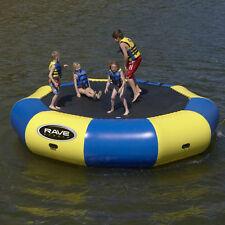 Rave Lake Ocean River Water Sports Bongo 15 Bouncer 15' Trampoline