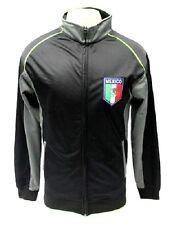 Mexico International Team Black / Gray Track Jacket Soccer Futbol Men's XL