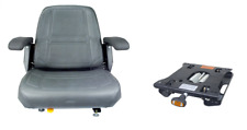 SEATS INC. 907 SERIES SEAT WITH SUSPENSION JOHN DEERE, EXMARK,SCAG (G24)