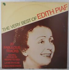 EDITH PIAF - THE VERY BEST OF… 1977 UK ISSUE. EMC3142