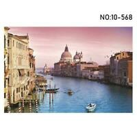 1000 Pieces Puzzle Venice Adult Kids Jigsaw Decompression Gift Home Game Y9Y4