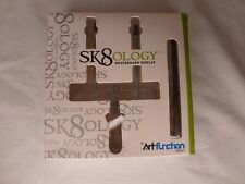 "Sk8ology Deck Skateboarding Floating Display with 3/8"" Drill Bit Included - Nob"