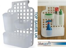 BLUE CANYON PLASTIC OVER THE DOOR KITCHEN CUPBOARD DOOR STORAGE BATHROOM CADDY