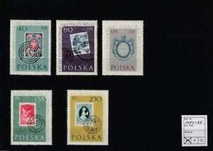 Polen postfris 1960 MNH 1151-1155 - Postzegels 100 Jaar