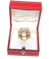 AUTHENTIC CARTIER Maillon Panthere 18k yellow gold Band RING Size 54