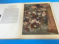 Flower Painting with Color Reproductions by Renoir Manet Gauguin Van Gogh 1953