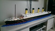 Lego RMS TITANIC - NO LEGO BRICKS - Instructions de montage / Plans construction