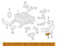 TOYOTA Genuine 71811-60160-A0 Seat Cushion Shield