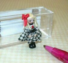 "Miniature Ethel Hicks Tiny Porcelain Doll ""Wee Muffy"": DOLLHOUSE 1:12"