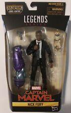Marvel Legends Nick Fury Action Figure (Kree Sentry BAF Series)