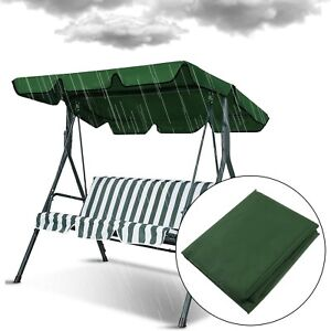 Garden Swing Cover Waterproof Outdoor Chair Replacement Canopy Spare Fabric
