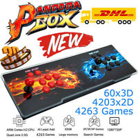2021 New 3D Pandora's Box Game Stick Arcade Console Machine HD Video 4263 Games