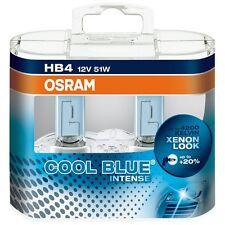 2 x Bombillas Osram Cool Blue Intense HB4 4200K Faros Halogeno Lamparas Coche