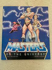 PANINI MASTERS OF TE UNIVERSE He-Man 1983 Incomplete Sticker Album