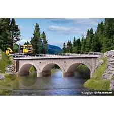 Pont droit À Arc Maçonné 1 Voie-ho-1/87-kibri 39721