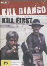 KILL DJANGO KILL FIRST - Giacomo Rossi Stuart, George Wang, Aldo Sambrell  - DVD