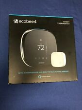 Ecobee4 Alexa-enabled Smart Thermostat With Room Sensor-New OPEN BOX