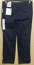 New listing Izod Boys Pants Size 16 Husky Flat Front Navy Blue Nwt New School Uniform
