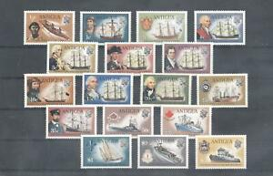 (875333) Ship, Navigator, Definitive Issue, Antigua