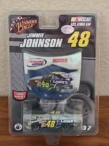 2007 #48 Jimmie Johnson Lowe's COT Richmond Win 1/64 Winner's Circle NASCAR