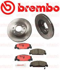 Brembo Front Brake Kit Disc Brake Rotor & Pads CIVIC CRX DEL SOL