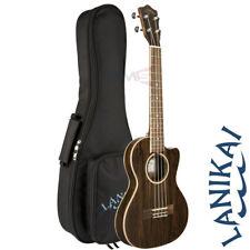 Lanikai FB-CETT Figured Bocote Series Tenor Acoustic Electric Ukulele + Gig Bag