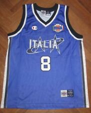 Canotta maglia MARCONATO ITALIA EUROBASKET 99 FIBA jersey basket camiseta MYERS