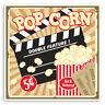 2 x 10cm Fun Popcorn Vinyl Stickers - Film Movie Teen Laptop Sticker #34960