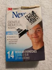 Nexcare 14 Regular Eyepatches Gentle Removal