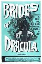 Brides de Dracula Poster 01 A2 Box Toile imprimer