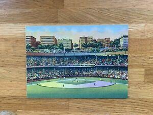 USA US 2001 POSTAL CARD MINT BASEBALL STADIUMS POLO GROUNDS NEW YORK GIANTS METS