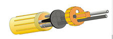 Dosenmuffe FDM2-02, 7-25 mm Kabelverbinder wasserdicht Kabelmuffe IP68 Friedl