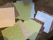 """Stampin' Up """"Petal Patch"""" Retired DSP 12x12 16 sheets"""