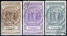 Regno d'Italia 1923 Cassa Previdenza Camicie Nere S27 n. 147/149 usati (m1294)