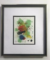 Lithograph By Joan Miro Titled Composition. Printed On Archival Paper