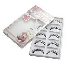 Professional 5 Pack Eyelashes Demi Wispies Free Precision Glamour Fashion Lashes