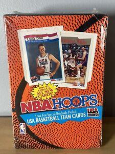 1991-92 HOOPS Basketball Series II Factory Sealed Box SEE DESCRIPTION TEAM USA