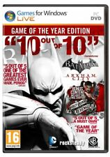 Batman: Arkham City - GotY Edition (PC, 2012, Steam Key Download Code) Keine DVD