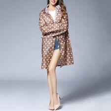 Art- und Weisefrauen-Mädchen-wasserdichte Kleidung-Regenmantel-Punkt kleid Neu