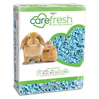 Paper Bedding Complete Natural 50 Liters Hamster Rabbit Gerbil Guinea Pig Blue