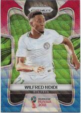2018 Panini FIFA World Cup Blue Red Wave Prizm (145) Wilfred NDIDI Nigeria